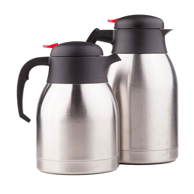 Push Button Coffee Pot S/S