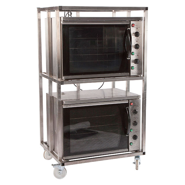 2x Oven Electric Burco with Stand